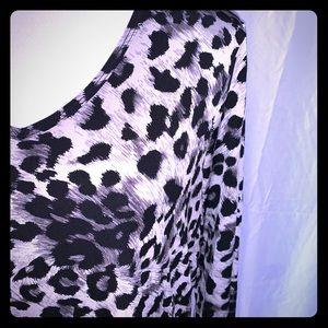 Susan Graver medium 3/4 sleeve blouse EUC